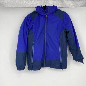 LL Bean girls 3-in-1 jacket, M/10-12